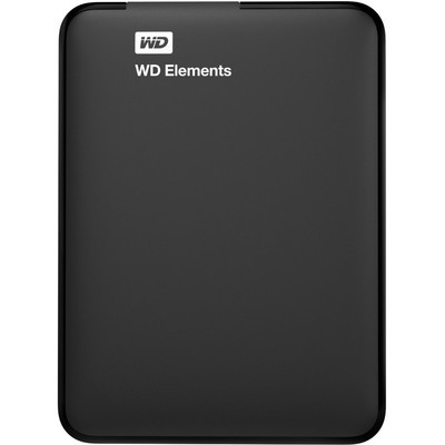 Портативный HDD WD Elements Portable 500GB USB3.0(WDBUZG5000ABK-EESN)черн