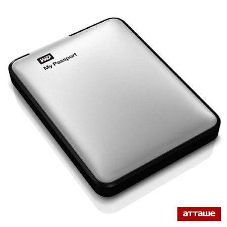 Портативный HDD WD MyPassport Ultra 500GB USB3.0(WDBLNP5000ABK)черн