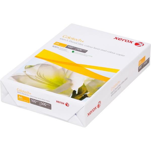 Бумага XEROX COLOTECH PLUS (А4,100г,170CIE%,500листов)