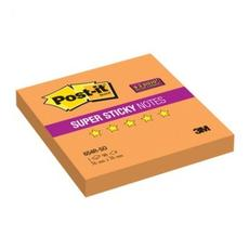 Блок-кубик Post-it Super Sticky 654R-SO,76х76 оранжевый, 90л.