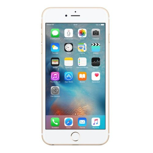 Смартфон Apple iPhone 6S Plus 64GB золотистый MKU82RU/A