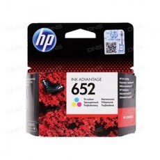 Картридж струйный HP 652 F6V24AE Tri-colour (Цветной) для HP Deskjet Ink