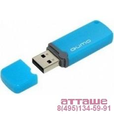 USB 2.0 QUMO 8GB Optiva 02 Blue [QM8GUD-OP2-blue]