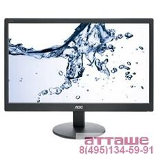 "LCD AOC 18.5"" e970Swn черный {TN LED 1366x768 5ms 16:9 90/65 50M:1 200cd D-Sub}"