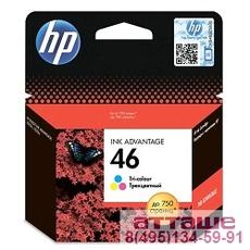 HP CZ638AE Картридж №46, Color {DJ2520/2020, Color}