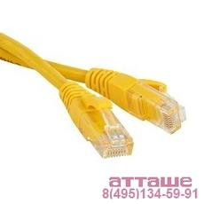 Hyperline PC-LPM-UTP-RJ45-RJ45-C5e-1.5M-LSZH-YL Патч-корд U/­UTP, Cat.5е, LSZH, 1.5 м, желтый