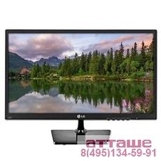 "LCD LG 18.5"" 19M38A-B черный {TN+film 1366x768 5ms 90/65 16:9 600:1 200cd D-Sub}"