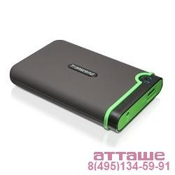 "Transcend Portable HDD 500Gb StoreJet TS500GSJ25M3S {USB 3.0, 2.5"", grey}"