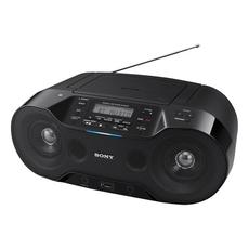 Магнитола SONY ZS-RS70BT,CD-RW,CD-R,MP3,вых.мощ.4,6Вт, USB,FM/AM тюнер,Bluetooth,NFC, ЖК-дис, цв.чёр