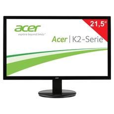 Монитор LED 21.5(55см) ACER K222HQLbd (UM.WW3EE.002) 1920x1080/TN+film/16:9/DVI/D-Sub/200cd/5ms/чер