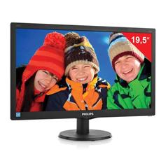 Монитор LED 19.5(50см) PHILIPS 203V5LSB2 1600x900/TN+film/16:9/D-Sub/200cd/5ms/чер