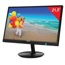 Монитор LED 21.5(55см) PHILIPS 224E5QHSB 1920x1080/AH-IPS/16:9/DVI/D-Sub/250cd/14ms/чер